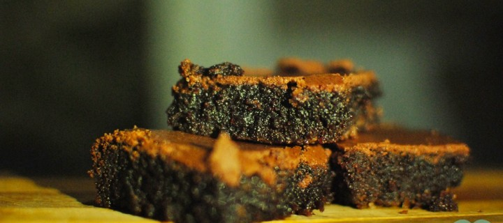 Chewy Fudgy Chocolate Brownie