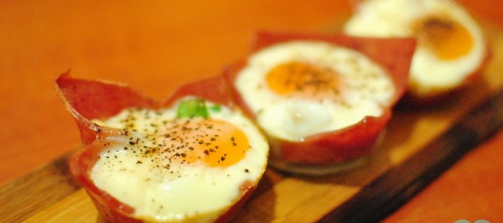 Ham and Eggs Breakfast Cups