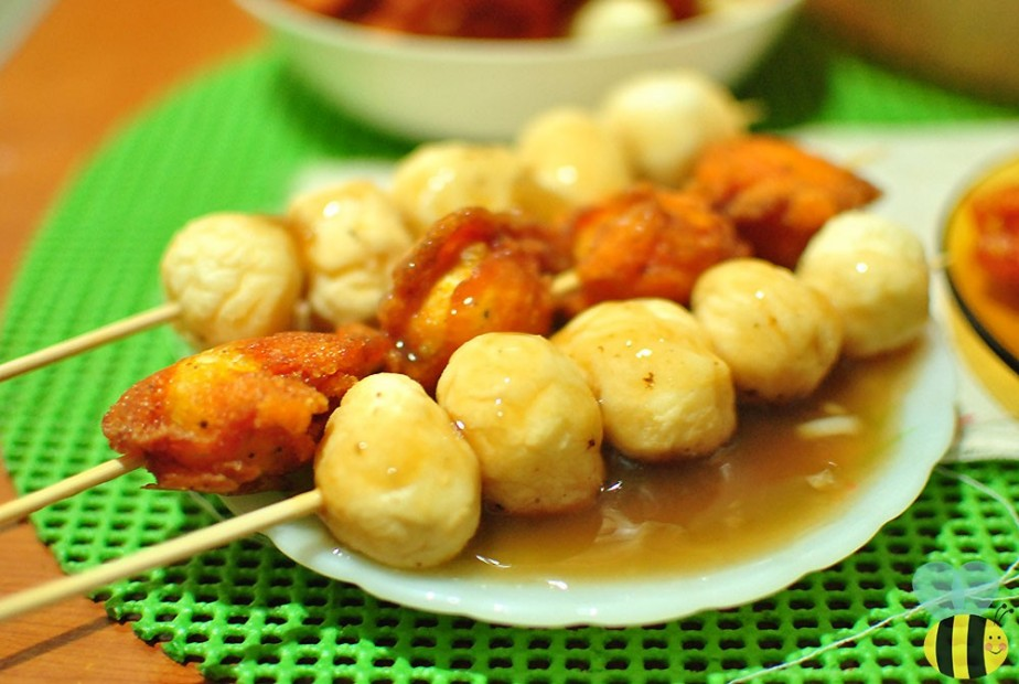 kwek kwek fishball sauce recipe