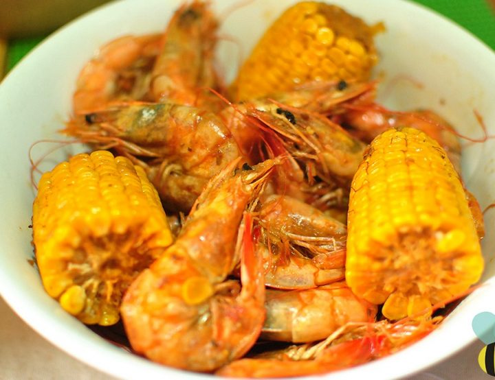 Cajun Boiled Shrimps Recipe